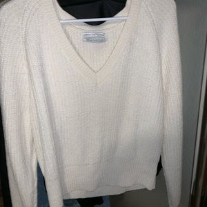 White Urban Outfitters sweater